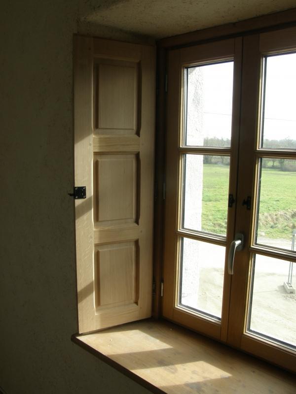 Fenêtre et volet intérieur bois Lepretre SARL