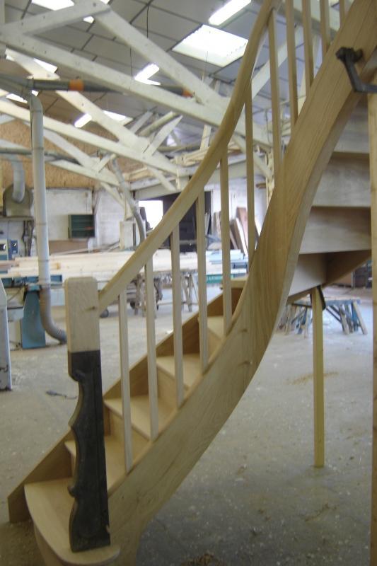escalier bois Lepretre SARL