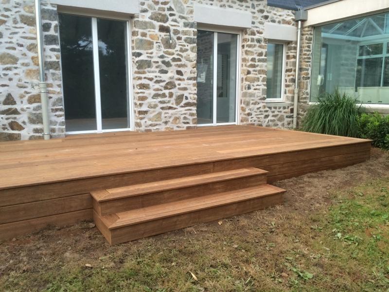 Terrasse en bois Lepretre