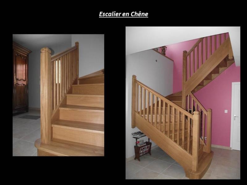 escalier en chêne Lepretre SARL